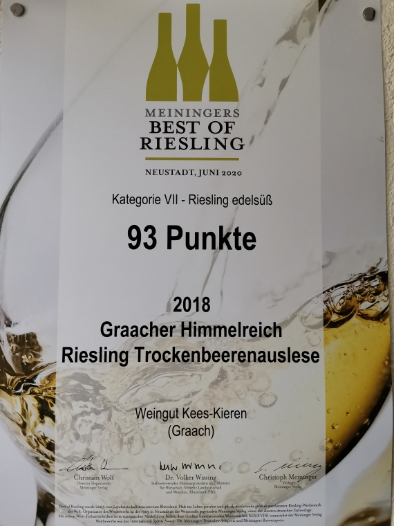 Best of Riesling 2021 TBA